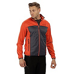 Regatta - Orange 'Walson' hybrid softshell jacket