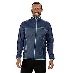 Regatta - Blue 'Walson' hybrid softshell jacket