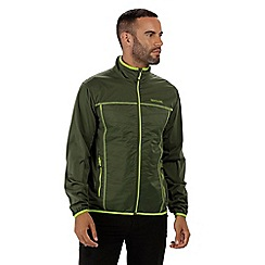 Regatta - Green 'Walson' hybrid softshell jacket