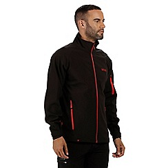 Regatta - Black 'Nielson' softshell jacket