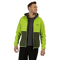 Regatta - Green 'Arec' softshell jacket