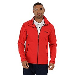 Regatta - Red 'Callen' softshell jacket