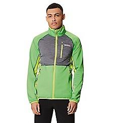 Regatta - Green 'Yare' softshell jacket
