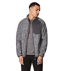 Regatta - Grey 'Farway' hybrid hooded jacket