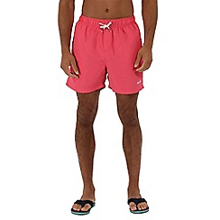 Regatta - Pink 'Mawson' swim shorts
