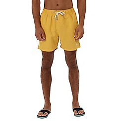 Regatta - Yellow 'Mawson' swim shorts
