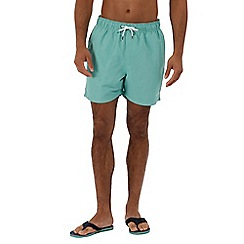 Regatta - Green 'Mawson' swim shorts