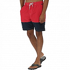 Regatta - Red brachtmar swim shorts