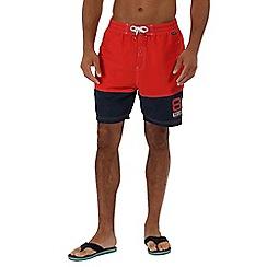 Regatta - Red 'Brachtmar' swim shorts