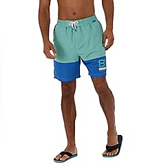 Regatta - Green 'Brachtmar' swim shorts