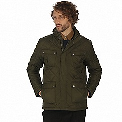 Regatta - Green 'Lathan' quilted jacket