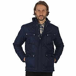 Regatta - Blue 'Lathan' quilted jacket