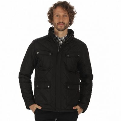 Regatta Black 'Lathan' quilted jacket   Debenhams