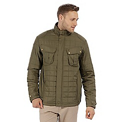 Regatta - Green 'Lamond' quilted jacket