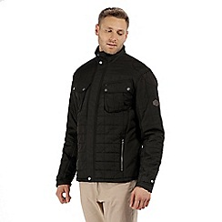 Regatta - Black 'Lamond' quilted jacket