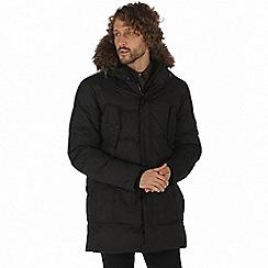 Regatta - Black 'Andram' parka jacket