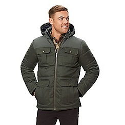 Regatta - Green 'Arnault' insulated hooded coat