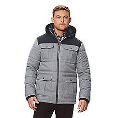Regatta - Blue 'Arnault' insulated hooded coat