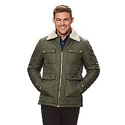 Regatta - Green 'Lochlan' insulated quilted jacket