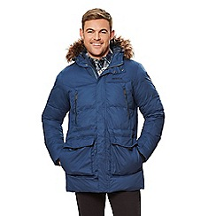 Regatta - Blue 'Angaros' quilted hooded parka