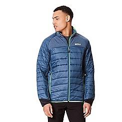Regatta - Blue 'Halton' lightweight quilted jacket