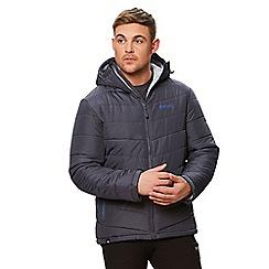 Regatta - Grey 'Nevado' quilted hooded jacket