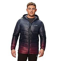 Regatta - Grey 'Azuma' quilted hooded jacket