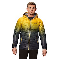 Regatta - Yellow 'Azuma' quilted hooded jacket