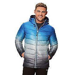 Regatta - Blue 'Azuma' quilted hooded jacket