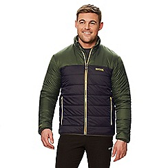 Regatta - Green 'Icebound' quilted lightweight jacket
