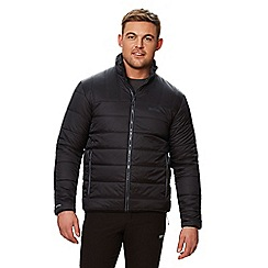 Regatta - Black 'Icebound' quilted lightweight jacket