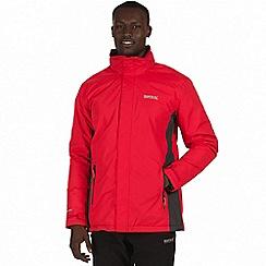 Regatta - Red 'Thornridge' waterproof insulated jacket