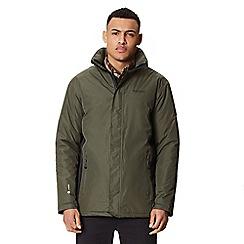 Regatta - Green 'Thornridge' waterproof insulated jacket