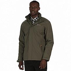 Regatta - Green 'Hackber' waterproof insulated jacket