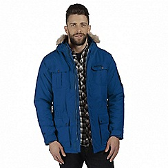 Regatta - Blue 'Saltoro' waterproof insulated jacket
