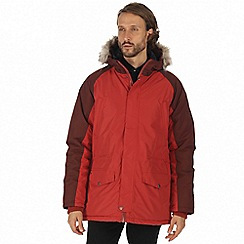 Regatta - Orange 'Salton' waterproof insulated jacket