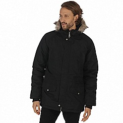 Regatta - Black 'Salton' waterproof insulated jacket