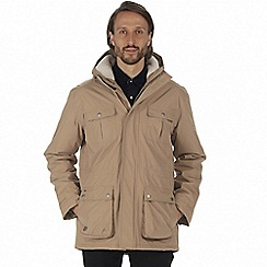 Regatta - Brown 'Penley' waterproof insulated jacket