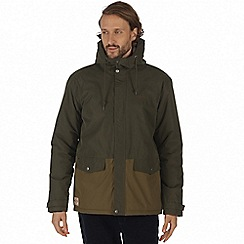 Regatta - Brown 'Sternway' waterproof insulated jacket