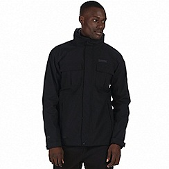 Regatta - Black 'Northton' 3-in-1 jacket