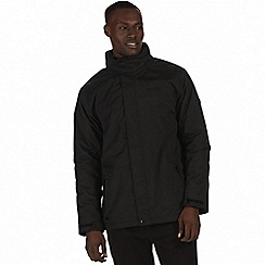 Regatta - Black 'Hesper' waterproof insulated jacket