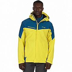 Regatta - Yellow 'Sacramento' 3-in-1 jacket