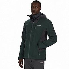 Regatta - Green 'Wentwood' 3-in-1 jacket