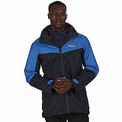 Regatta - Blue 'Backmoor' 3-in-1 jacket