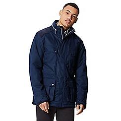 Regatta - Blue 'Emeril' insulated hooded waterproof jacket