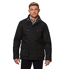 Regatta - Black 'Emeril' insulated hooded waterproof jacket