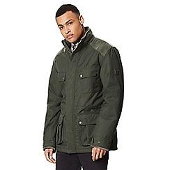 Regatta - Green 'Emeril' insulated hooded waterproof jacket