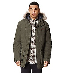 Regatta - Green 'Salinger' insulated hooded waterproof parka