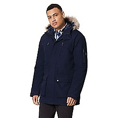 Regatta - Blue 'Salinger' insulated hooded waterproof parka