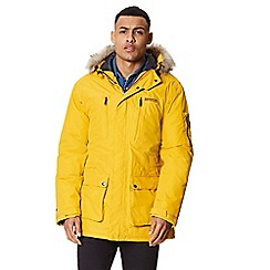 Regatta - Yellow 'Salinger' insulated hooded waterproof parka